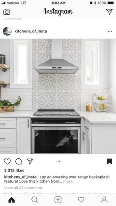 Pin by Olivia Fruit on for the house in 2019 Home Decor Kitchen - Marble Kitchen Tile Diy, Kitchen Stove, Kitchen Redo, Home Decor Kitchen, Home Kitchens, Kitchen Remodel, Kitchen Design, Kitchen Tile Designs, Stove Backsplash