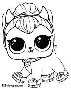 435 Best Lol Doll Art Images Coloring Books Coloring Pages Lol Dolls