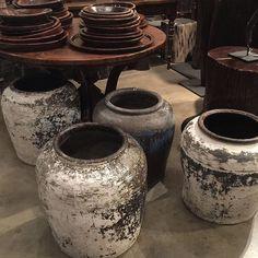 #alwaysinstyle #vintage #waterpots #heartandsoul #decoration