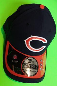 NFC Chicago Bears Men s Size S M Navy Orange 2015 On-Field 39THIRTY 63455e32d