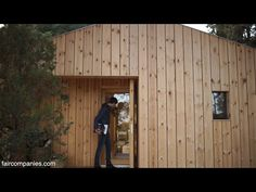 Tasked with building a tiny studio in the hills outside Barcelona, architect Pablo Serrano Elorduy (of Dom Arquitectura) created an all-wooden shelter stunni...