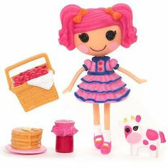"""Lalaloopsy 3 Inch Mini Figure with Accessories- Berry Jars """"N"""" Jam by MGA Entertainment, http://www.amazon.com/dp/B0053H4ZY2/ref=cm_sw_r_pi_dp_.eAUqb05YDFYS"""