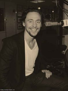 8) or speaking on a radio show | The Ultimate Cure For Depression By Tom Hiddleston