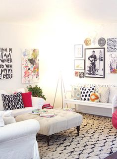 Love everything about this. Bright and cheerful!