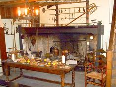 Summary in English medieval kitchen - Country Club