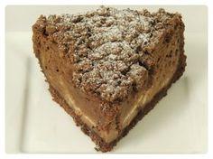 Tvarohovo-pudingový čokoládový koláč - NajRecept.sk