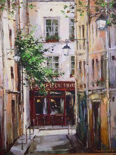 Paris 80x65 oil on canvas 2003
