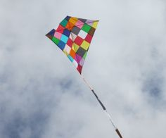 The good ole' days! ...Make your own kite using tissue paper