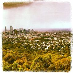 Australian Places and Events- Mount Coot-tha Lookout view of Brisbane city. A popular place to bring the family or friends with a restaurant located at the venue (28/07/2013). by damienfoley, via Flickr