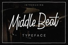 Middle Beat by Qiwbrother Studio on @creativemarket