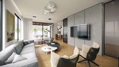 House in Ramat Sharon by Studio Aristo 02 - MyHouseIdea