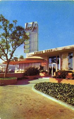 This Hody's Coffee Shop was located at 3553 South La Brea and Rodeo in Los Angeles (ca. 1965)