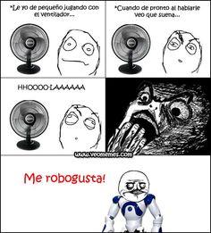 ¡Soy un robot!