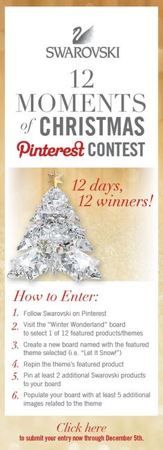 12 Moments of Christmas Pinterest #Contest