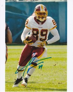 AAA Sports Memorabilia LLC - Santana Moss Autographed Washington Redskins  8x10 Photo a8d6eeefc