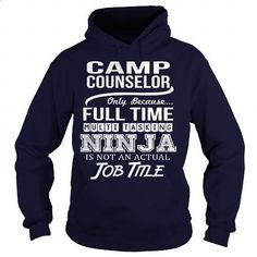 Awesome Tee For Camp Counselor - #mens shirts #shirts for men. ORDER NOW => https://www.sunfrog.com/LifeStyle/Awesome-Tee-For-Camp-Counselor-96586486-Navy-Blue-Hoodie.html?id=60505