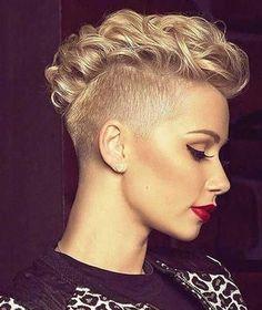 25 Penteados para cabelo curto encaracolado  #cabelocurto #curtoencaracolado #encaracolado #Penteadocurto #penteados