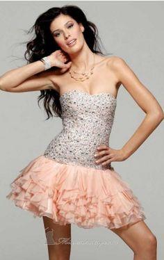 silk chiffon cocktail dress clarisse Clarisse 2015 Dress