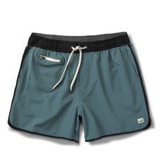 "Banks Short 5"" | Kelp Micro Dot – Vuori Clothing"