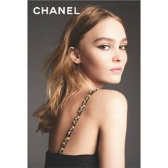Chanel's No. 5 L'eau Fragrance Campaign with Lily Rose Depp ❤ liked on Polyvore featuring beauty products, fragrance, chanel fragrance, chanel and chanel perfume