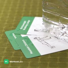Visit https://WorkoutLabs.com/exercise-cards to get these Exercise Cards for no weights workouts you can do anywhere!