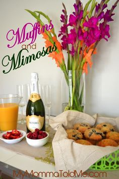 Stella and Dot trunk show Muffins and Mimosas Theme--easy Jewelry party themes  www.stelladot.com/michellelevin