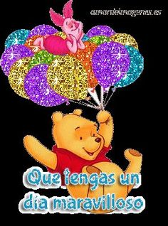 mejores-imagenes-en-movimiento-de-amor-winnie-pooh | Para sonreir | Pinterest | Posts, Frases and Amor