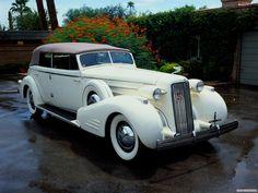 1936 Cadillac Fleetwood Series 75 Convertible Sedan