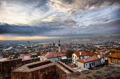 The historical centre of Ankara is situated upon a rocky hill, which rises 150 metres above the plain on the left bank of the tributary of the Sakarya river.