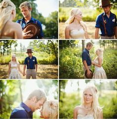 Love everything about this Backyard wedding in Missouri !!!