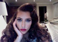 Kim K makeup. ~G