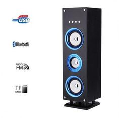 Blue Bluetooth Tower Speaker Rechargeable 25W Remote Control LED  http://www.ebay.co.uk/itm/Blue-Bluetooth-Tower-Speaker-Rechargeable-25W-Remote-Control-LED-/252621756424?hash=item3ad16e1808:g:mu0AAOSwB09YHa46