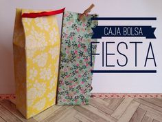 TUTORIAL Caja Bolsa para Regalo/Party Favor Box Bag