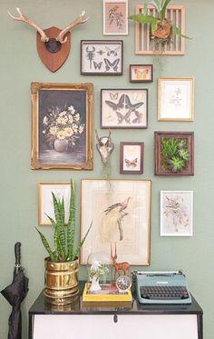 Frames On Wall, Framed Wall Art, Wall Art Decor, Wall Decorations, Wall Collage, Wall Decals, Collage Photo, Collage Frames, Wonderland