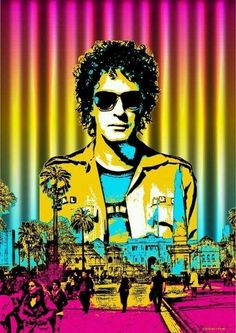 Gustavo Adrián Cerati Clark, leyenda del rock argentino - Pop Art #cerati #porsiempre Soda Stereo, Rock Argentino, Pop Art Illustration, Music Images, Perfect People, Rock Legends, Rock Style, Urban Art, Good Music