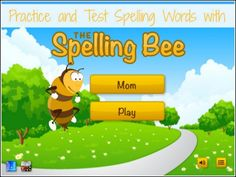 Practice and Test Spelling Words with the Spelling Bee App - This is much more fun than writing words over and over or staring at the list of words. Review by Heidi at Home Schoolroom