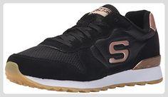 Skechers Status- Borges, Zapatillas de Deporte, Hombre, Azul (NVY), 39 EU
