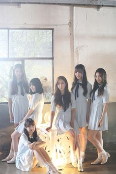 GFRIEND 'Summer Rain' MV Shooting Behind from Melon Magazine