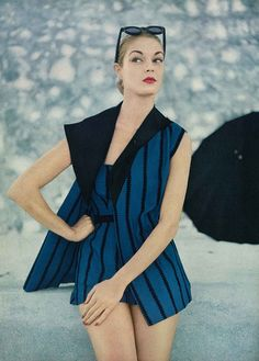 Jean Patchett Vogue May 1951...