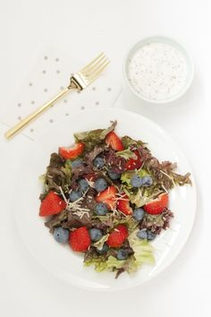 Summer recipe you need to try: Patriotic Berry + Poppyseed Salad