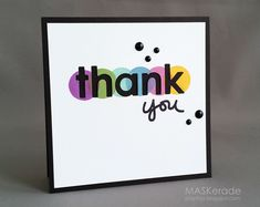 MASKerade: Muse 94 - Thank you! CAS graphic card