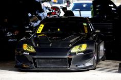 J's Racing potent NA at Tuning Fiesta. J's functional aerodynamics is formed in the looks department as well in Black or Yellow. Honda S2000, Nsx, Jdm Cars, Beast, Racing, Japanese, Vehicles, Sports, Motorbikes