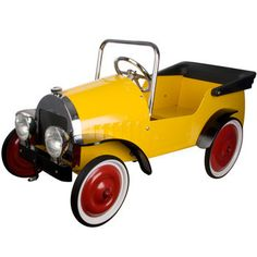 Great Gizmos Yellow Classic Pedal Car Ride On - Model 8311 (3  Years)