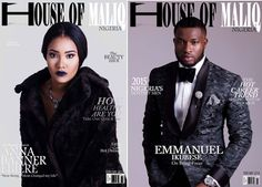Anna Banner And Emmanuel Ikubese Cover House Of Maliq Latest Issue: ~ News World Updates