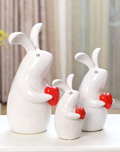 JM home decoration Scandinavian home decoration set (love rabbit home)