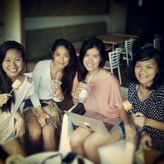 Four BUM Girls :) #BeautifulandUtterlyMarvelous