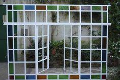 Ventana En Hierro Dos Hojas De Abrir Guarda A Color House Goals, Exterior, Outdoor Structures, Patio, Architecture, Wood, Ideas Para, Home Decor, Bar