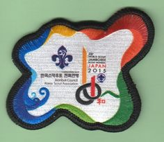 Korean badge for the 2015 World Scout Jamboree