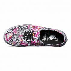 Vans Chaussures Authentic Disney (Disney) Cheshire Cat/black - Vans France Boutique en ligne officielle