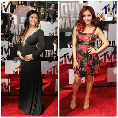 Snooki And JWoww: Check Out Their Very Different Maternity Looks And Baby Bumps! (Photos)
